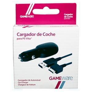 Cargador de Coche para PSVita GAMEware