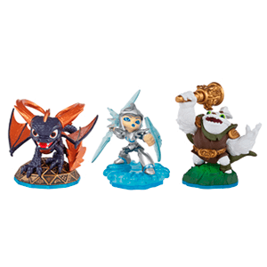 Skylanders Swap Force Triple Pack B: Spyro + Chill + Zoo Lou