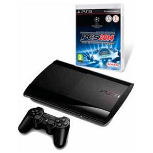 Playstation 3 Slim 12Gb + Pro Evolution Soccer 2014