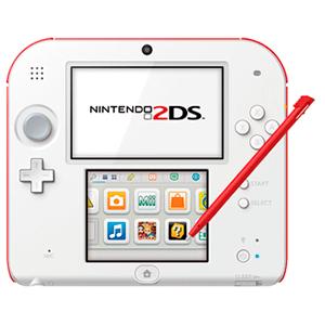 Nintendo 2DS Blanco/Rojo