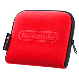 Funda Nintendo 2DS Negro-Roja