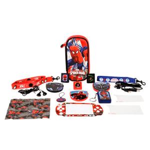 Kit Accesorios 16 en 1 Ultimate Spiderman PSP/PSV