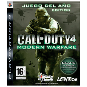 Call of Duty 4: Modern Warfare (Juego del año) [D]