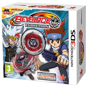 Beyblade Evolution Pack con Peonza