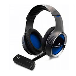Auriculares 4Gamers CP-RF01 Wireless -Licencia Oficial Sony-