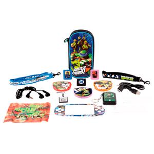 Kit Accesorios 16 en 1 Tortugas Ninja PSP/PSV