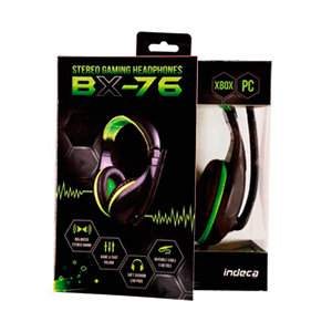 Auriculares Indeca BX-76 X360/PC