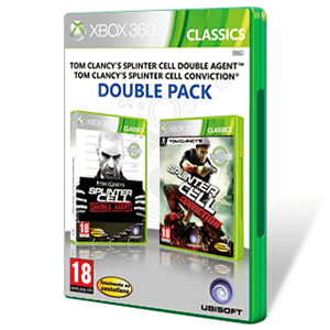 Pack Splinter Cell Doble Agente + Spliner Cell Conviction