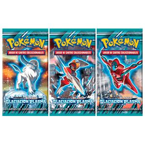 Sobre Pokemon N&B Glaciación Plasma 10 cartas