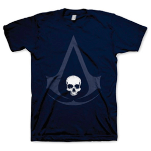 Camiseta Assassin's Creed IV Navy Talla XL