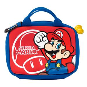 Bolsa de Viaje 3DSXL Mario Hori -Licencia Oficial Nintendo-