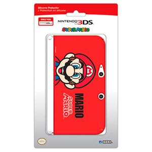 Protector Silicona 3DSXL Mario -Licencia Oficial Nintendo-