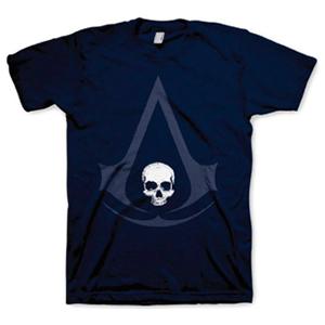 Camiseta Assassin's Creed IV Navy Talla M