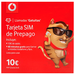 SIM Vodafone Smart Yu 10€
