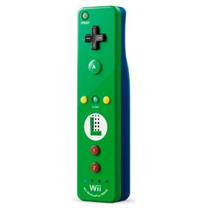 Mando WiiU Remote Plus Edición Especial Luigi