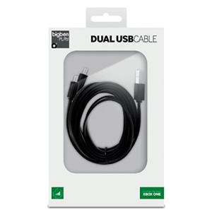 Cable Usb de Carga con Dos Salidas