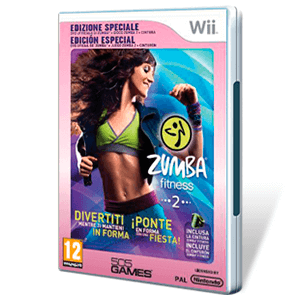 Zumba Fitness WII 2 + DVD Edicion Especial