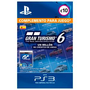 Gran Turismo 6: 1M Credits