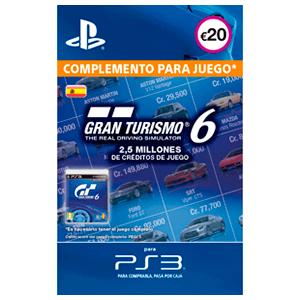 Gran Turismo 6: 2,5M Credits
