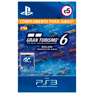 Gran Turismo 6: 500K Credits