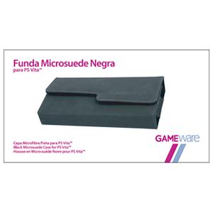 Funda Microsuede Negra para PS Vita GAMEware