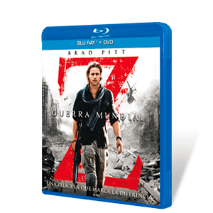 Guerra Mundial Z Bluray + DVD