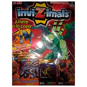 Megapack Invizimals TC Nueva Alianza