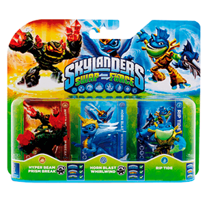 Skylanders Swap Force Triple Pack E: Prism Break + Whirlwind + Rip Tide