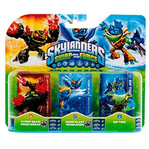 Skylanders Swap Force Triple Pack E: Prism Break + Whirlwind + Rip Tide