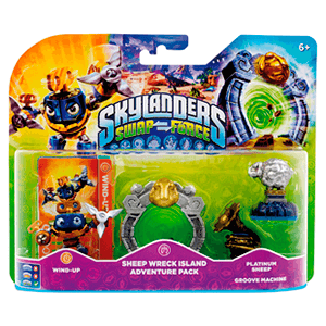 Skylanders Swap Force Adventure Pack: Sheep Wreck Island