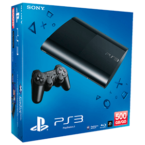 Playstation 3 Slim 500Gb Negra ***