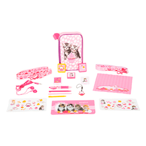 Kit 3DSXL Keith Kimberlin Cupcake Gatos