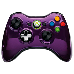 Controller Inalambrico Microsoft Chrome Púrpura