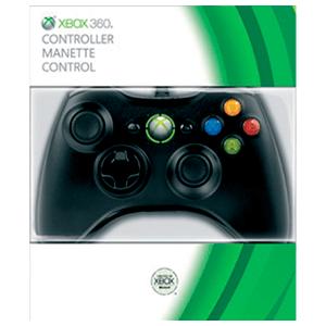 Controller Con Cable Microsoft Negro