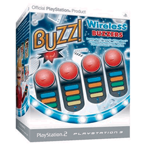 Buzzers Inalambricos compatibles PS2