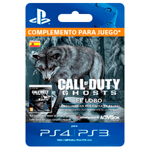Call of Duty Ghosts: Diseño de lobo