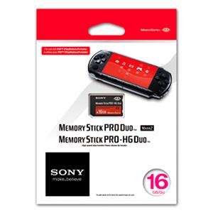 Tarjeta Memory Stick Pro Duo Sony 16Gb