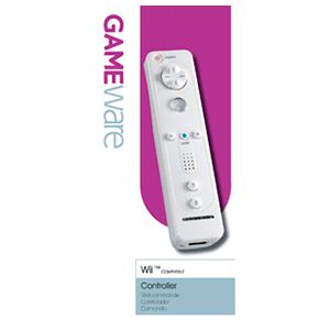 Mando Wiimote GAMEware Blanco