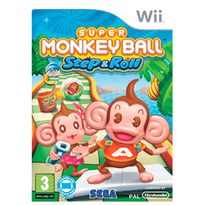 Super Monkey Ball Wii Step & Roll
