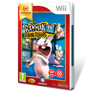 Rayman Raving Rabbids TV Nintendo Selects