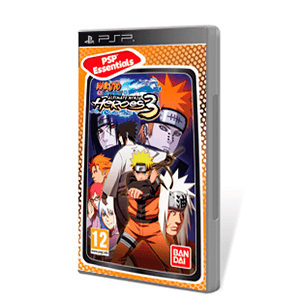Naruto Shippuden Ultimate Ninja Heroes 3 Essentials