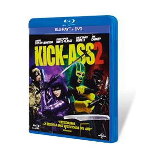 Kick Ass 2: Con Un Par Bluray + DVD