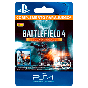 x Battlefield 4: Second Assault (PS4)