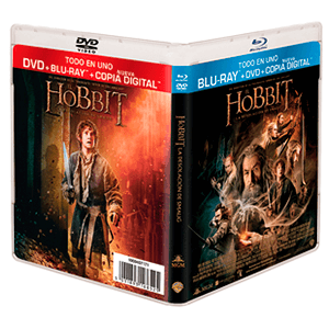 El Hobbit: La Desolación de Smaug Bluray + DVD + Copia Digital