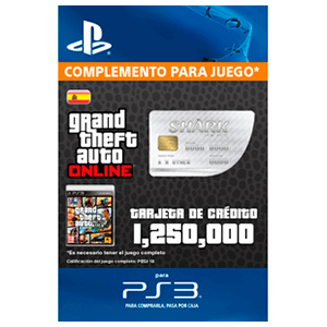 GTA Online: Great White Shark Cash Card (PS3)
