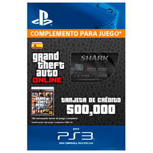 GTA Online: Bull Shark Cash Card (PS3)