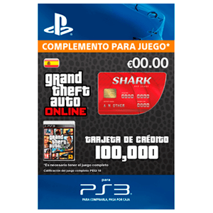 GTA Online: Red Shark Cash Card (PS3)