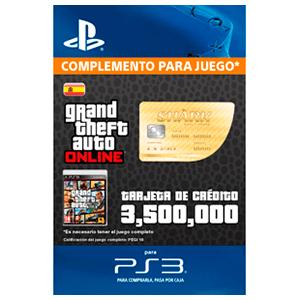 GTA Online: Whale Shark Cash Card (PS3)