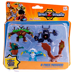 Invizimals - Pack 5 Figuras