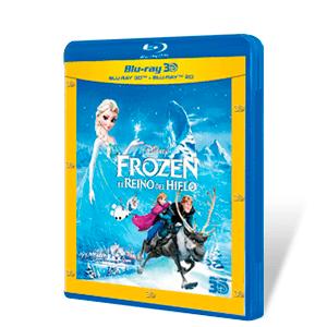 Frozen El Reino del Hielo Bluray + Bluray 3D